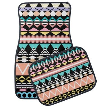 Pastel Party Aztec Pattern