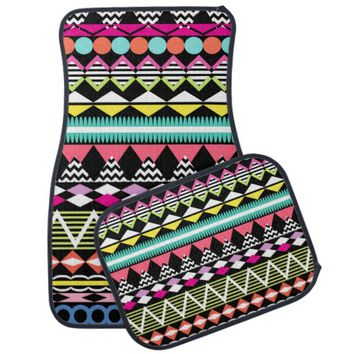 Bright Colorful Party Aztec Patte