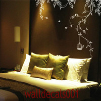 Vinyl wall decals wall sticker tree decals wall by walldecals001
