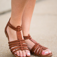 The Sofia Sandal, Camel
