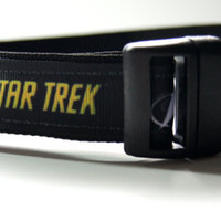Star Trek Dog Collar Adjustable Sizes (M, L, XL)