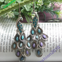 Pretty retro silver colorful filigree stone by toofashion2010