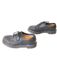 size 8 grunge black DOC Marten low rise creepers / Dr Marten shoes docs