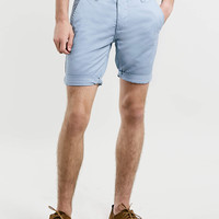 Light Blue Chino Shorts - Men's Shorts - Clothing - TOPMAN