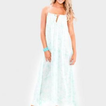 Summer Maxi Dress- Mint
