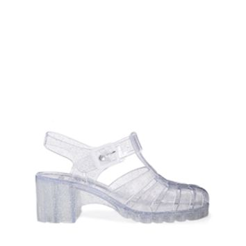 ASOS HEY! Heeled Jelly Shoes