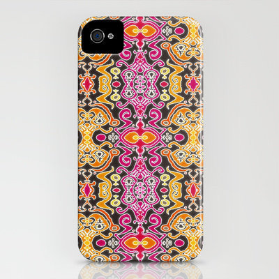 palatial ikat iPhone Case by Sharon Turner | Society6