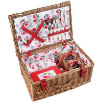 Retro To Go: Cherry two-person picnic hamper by Cath Kidston