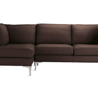 Albert Sectional Chaise Left Leather