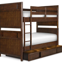 Francisco Twin over Twin Bunk Beds