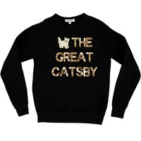 Sweatshirt, Comfy Shirt, The Great Gastby, Pop Culture, Custom, Unique, Loungewear, Weekend wear, Women's wear