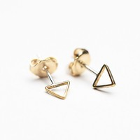 Erica Weiner Womens Shapes Studs - Square, One