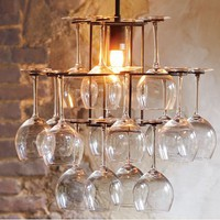 Wineglass Chandelier - NapaStyle
