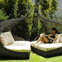 Neoteric Adam &amp; Even Outdoor Wicker Chair - HomeInfatuation.com.