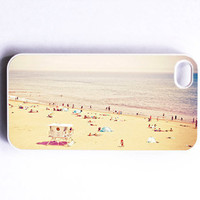 Iphone Case Beach Beach Scene Pastel Pale by SSCphotographycases