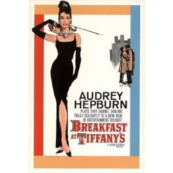 Breakfast at Tiffanys Movie Sheet POSTER Audrey Hepburn - 24x36 Collections Poster Print, 24x36 Movie Poster Print, 24x36