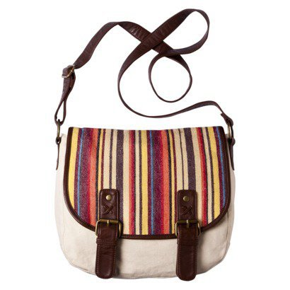 Mossimo Supply Co. Stripe Flap Over Crossbody