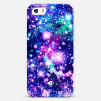 Pink and Purple Galaxy Stars iPhone 5s case by Organic Saturation | Casetify