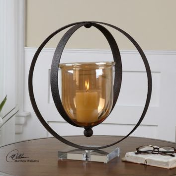 Charon Candle Holder 19846 by Uttermost - Opulentitems.com