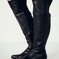 Seychelles Womens Grafton Over the Knee Boot - Black,