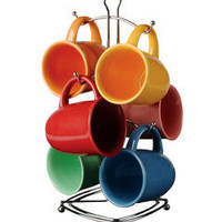 ideeli | GIBSON ELITE 7-Piece Color Curve Mug Set