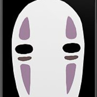 No Face ~ Spirited Away iPhone Case