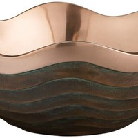 Nambe Scallope Copper Canyon 10-Inch-W Bowl - #EUX4176 - Euro Style Lighting