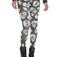 Understar Skulls & Hearts Leggings