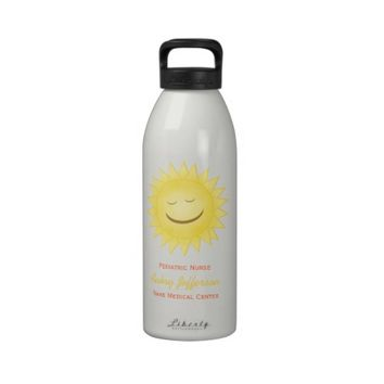 Personalized: Pediatric Nurse Water Bottle