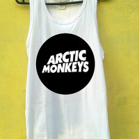 Artic Monkeys Black Design Tank Top, Tank Top Girls, Girls Tank Top, Mens Tank Top, Womens Tank Top, Black Tank Top, White tank Top