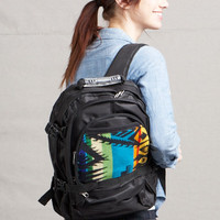 Pendleton ® Wool Fabric Back Pack Eagle Rock Turquoise