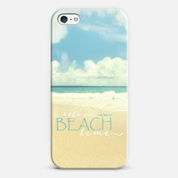 beach time iPhone 5 case by Sylvia Cook | Casetify