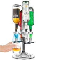 4 Bottle LED Bar Caddy