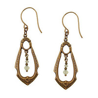 Art Nouveau Frame Teardrop Earrings at the Bibelot Shops