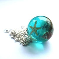 The Mermaid's Necklace 02 Nautical Jewelry by NaturalPrettyThings