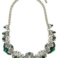 Emerald Aspasia Statement Necklace