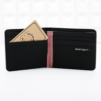Herschel Roy Bi-Fold Wallet in Black - Urban Outfitters