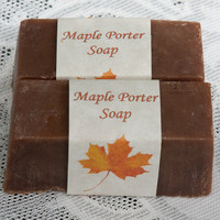 Maple Porter Soap by beersuds on Etsy