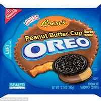 NABISCO OREO LIMITED EDITION REESE'S PEANUT BUTTER CUP(1PACK), 12.2 oz:Amazon:Grocery & Gourmet Food