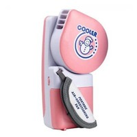 Portable Small Fan & Mini-air Conditioner, Runs On Batteries Or USB