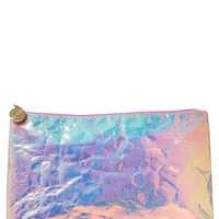 Cosmetic Clutch Iridescent
