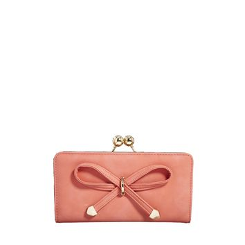 ASOS Bow Front Purse with Ball Frame