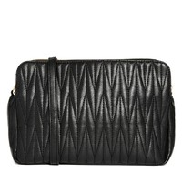 ASOS Multi Compartment Quilted Shoulder Bag