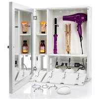 Style & GO® Hair Care Valet - No more Clutter. No More Cords. Lots more bathroom storage space!