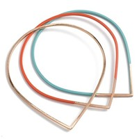Baleen 'Raindrop' Bangles (Set of 3)