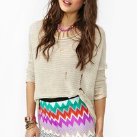 Ziggy Stripe Shorts