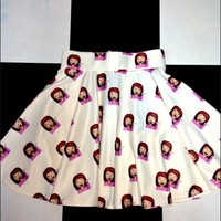 SWEET LORD O'MIGHTY! SASSY BITCH SK8R SKIRT