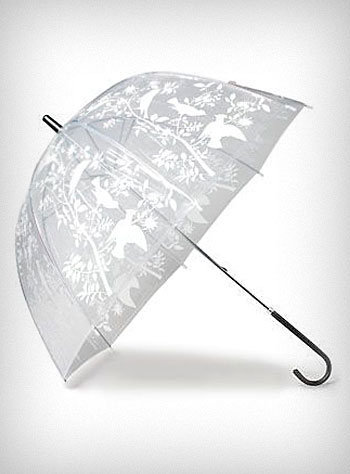 Birds & Branches Bubble Umbrella | PLASTICLAND
