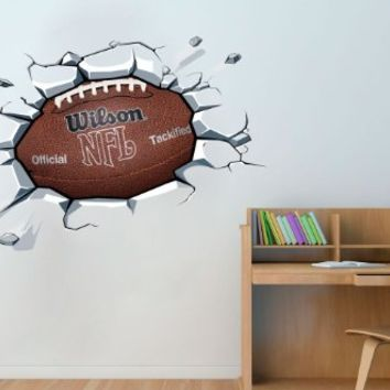 Football Ball Decal, 39.4 X 25.6 Inches | 100 x 65 cm
