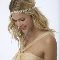 RYAN Intricate Rhinestone Chain Headband or Halo by UntamedPetals